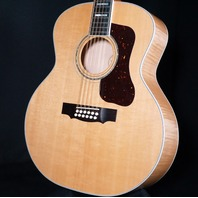 Guild F-512 USA Maple Blonde Jumbo 12 String Acoustic Guitar (B-Stock)