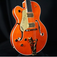 Gretsch G6120T-LH PE  Lefty Chet Atkins Hollow Body Guitar JT21010190