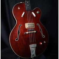 1964 Gretsch 6071 Bass Guitar Monkees Style Tennessean W/Hardshell Case