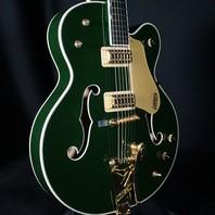 Gretsch G6196T Country Club Guitar Cadillac Green W/Hardshell