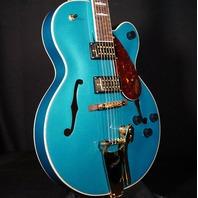 Gretsch G2410TG Streamliner SC Ocean Turquoise Guitar IS201218593 (In Stock)