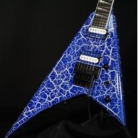 Jackson Pro Rhoads RR24 Guitar LTC Lightning Crackle CYG2100240