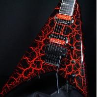 Jackson Pro Rhoads RR24 Guitar MLC Maul Lightning Crackle CYG2100257