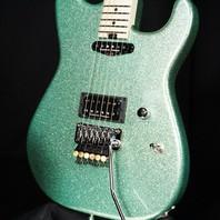 Charvel USA Custom San Dimas HS Emerald Green Flake Guitar (Red Dave)
