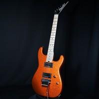 Charvel USA Custom San Dimas 2H Tangelo Orange Flake Guitar (Red Dave)