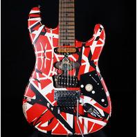 EVH Stripe Series Frankie Frankenstein Relic R/B/W Guitar (In Stock) EVH2103805