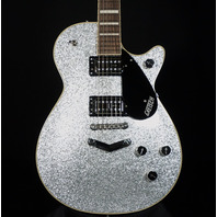 Gretsch G6229 PE Players Edition Silver Jet BT W/Stoptail (Actual Guitar)