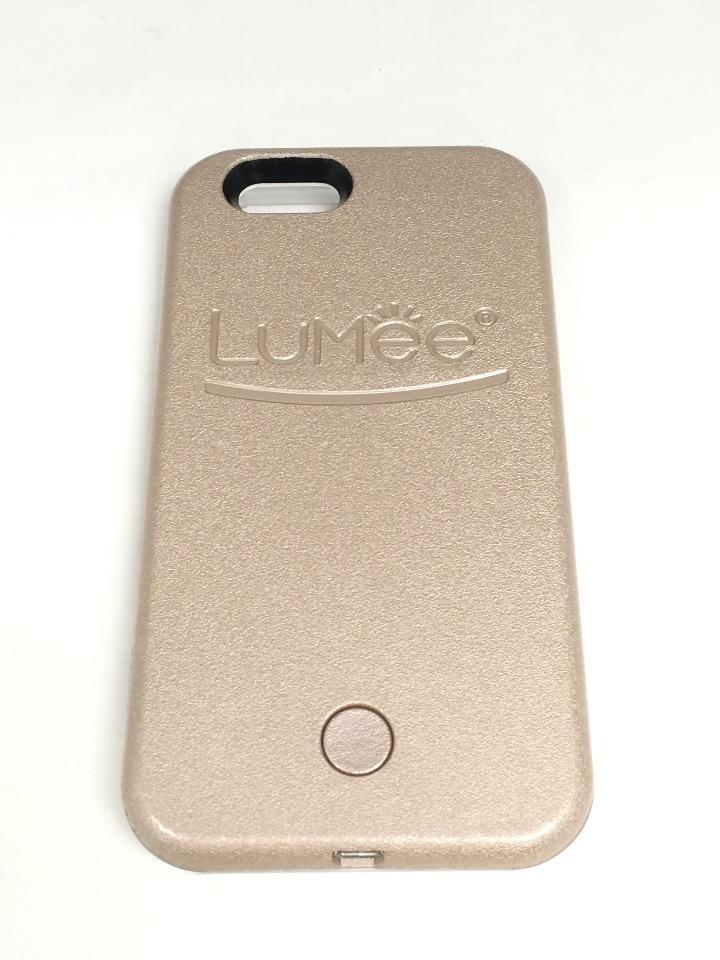 brand new 346f7 aa9c3 LuMee light up case - iPhone 6 6s - Rose Gold