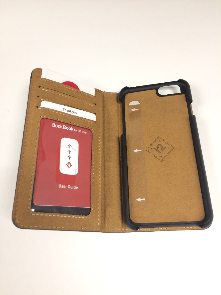 hot sale online 6cbfe 18a3d Twelve South BookBook Carrying Case (Book Fold) for iPhone 6, iPhone 6S -  Brown