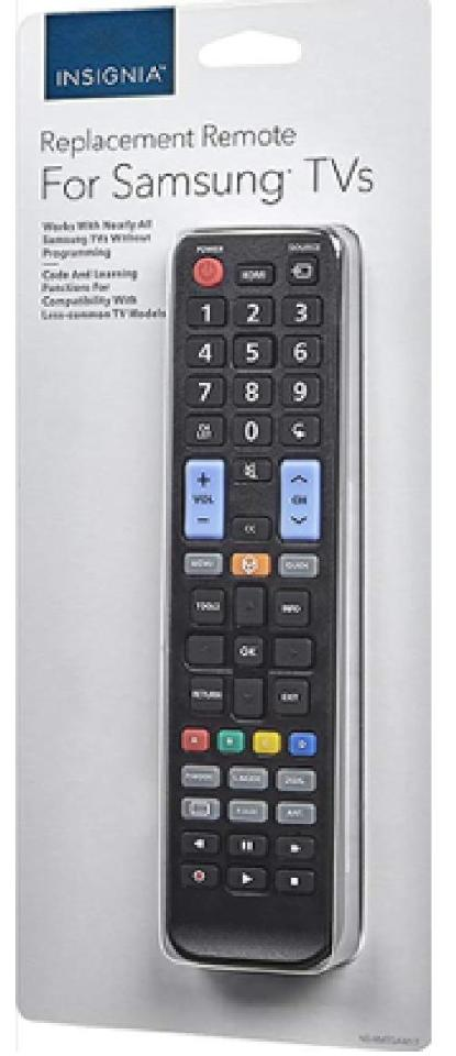 INSIGNIA Replacement Remote For SAMSUNG TVs