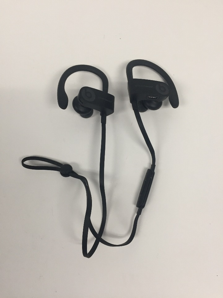 Apple Beats Powerbeats3 Wireless Black In Ear Headphones ML8V2LL/A