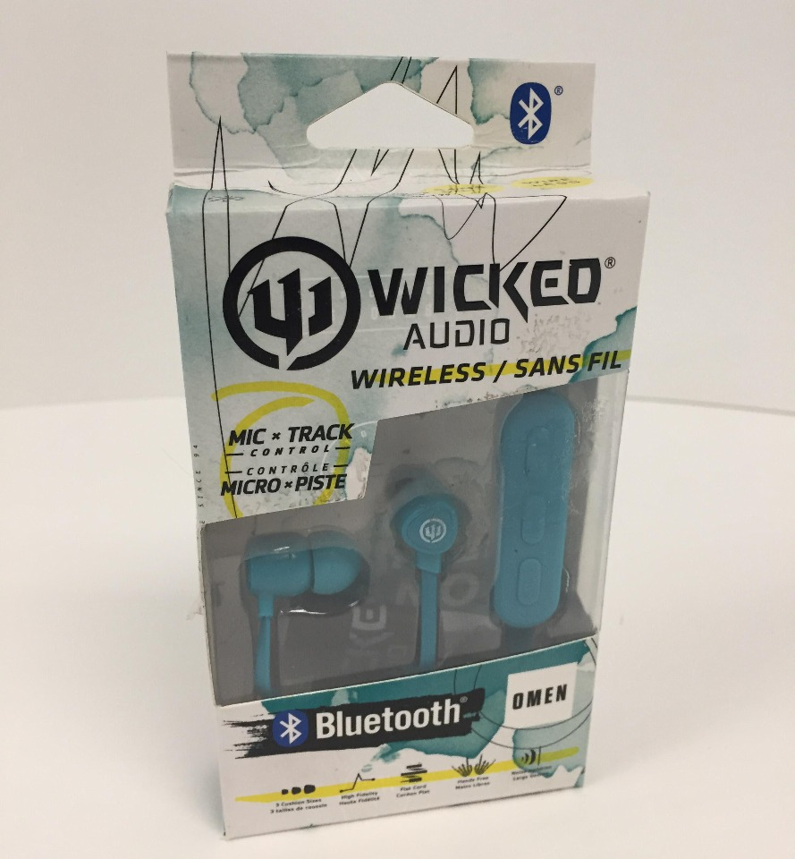 WICKED AUDIO OMEN WIRELESS BLUETOOTH EARBUDS - TEAL