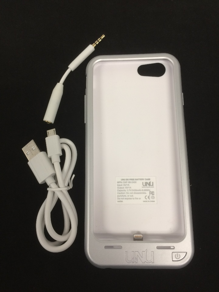 huge discount ff5e7 201e7 UNU DX-FREE protective Battery Case for iPhone 6 White DXF-06-2400WP