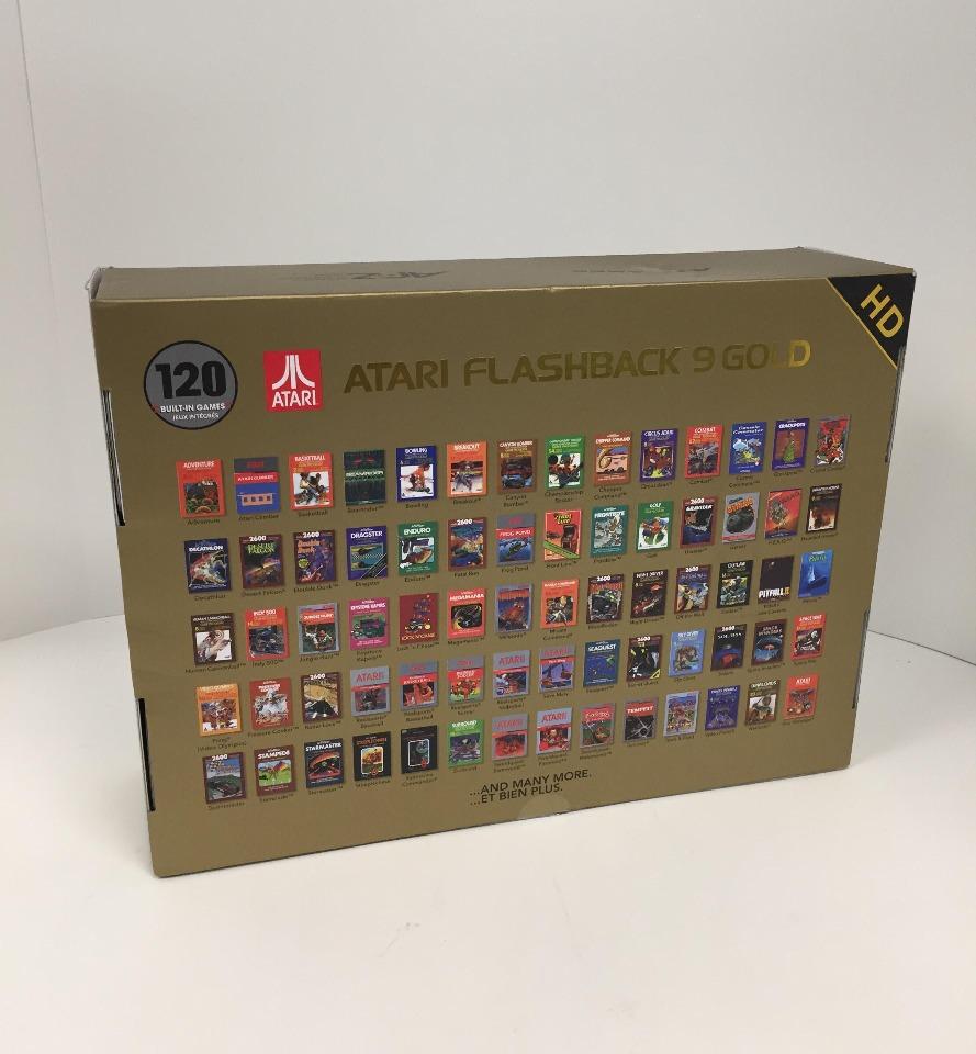atari flashback 9  Atari Flashback 9 Gold HD Classic Game Console | Buy Stuff Store