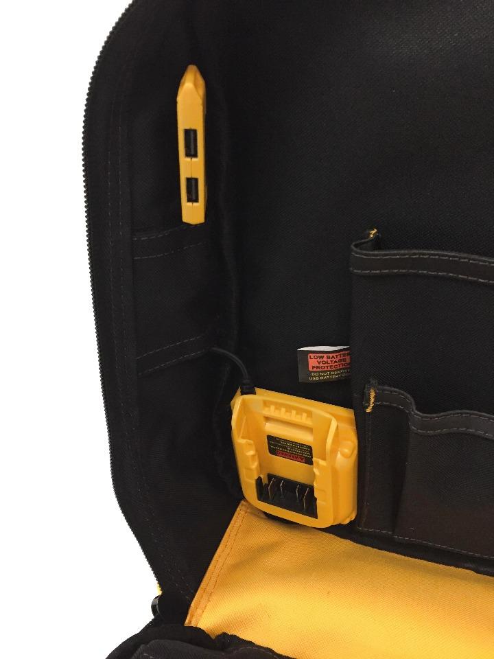 DeWALT DGC530 20V 23 Pocket USB Charging Tool Backpack Tool Bag