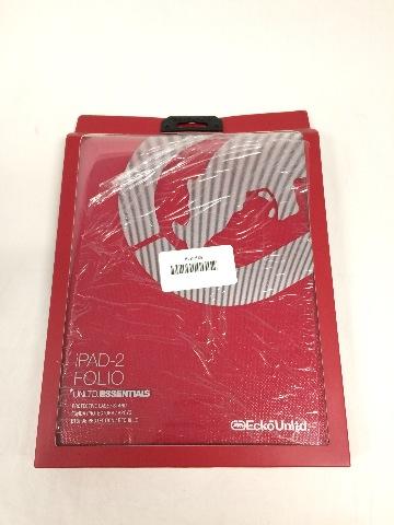 ECKO iPad 2 Shiny Canvas Case - Red (EKU-SCNVS2-RD)