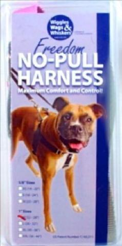 Freedom No-pull Nylon Dog Harness T Small, Raspberry