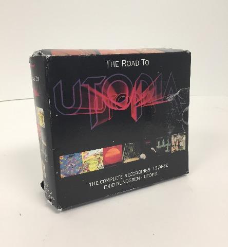 Todd Rundgren & Utopia - Road To Utopia - Complete Recordings 1974-82 [cd] |new|