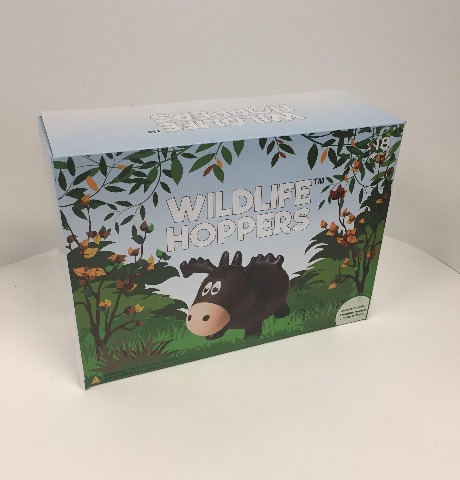 Wildlife Farm Hoppers - Moose bouncy toy