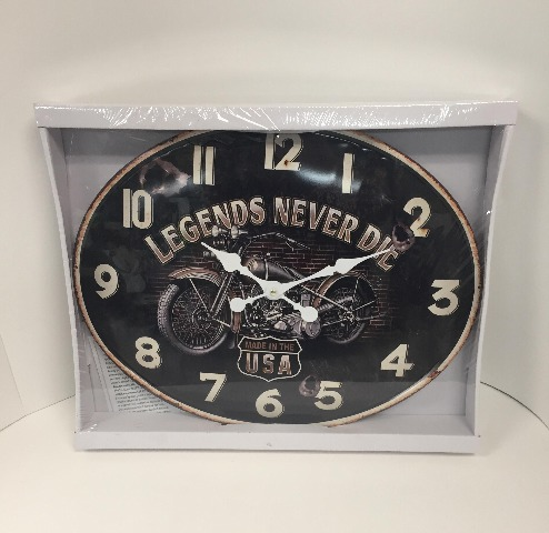 Ergo Clock - Made In The Usa -Wall