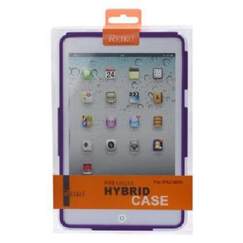Hybrid Case iPad Mini/Mini2 - White/Purple