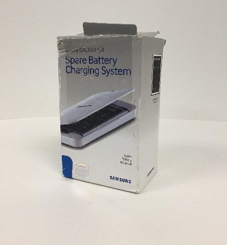 Samsung - Spare-battery Charging System For Samsung Galaxy S 5 Cell Phones