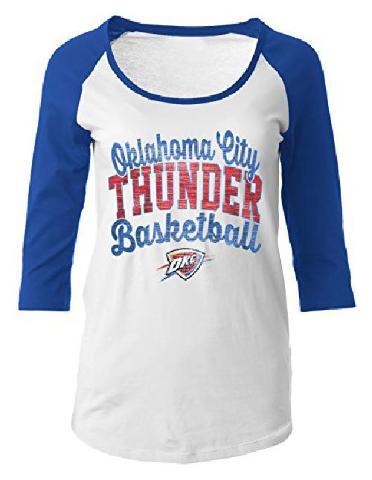 NBA Oklahoma City Thunder Women's 1 X-Large, Blue