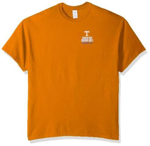 NCAA Tennessee Volunteers Football Schedule 2017  Shirt, Large, Tennessee Orange