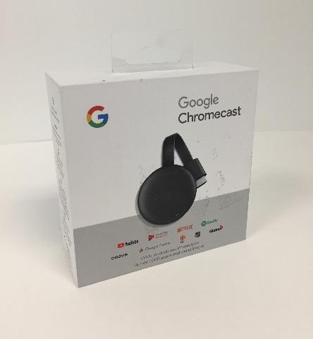 Google Chromecast Third Generation Grey