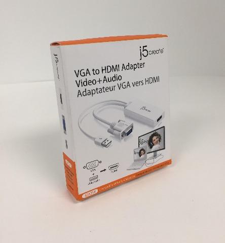 j5create VGA to HDMI Video Audio Adapter