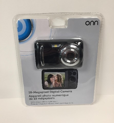 "Onn 18mp Digital Camera With 2.4"" Screen (SEALED)"