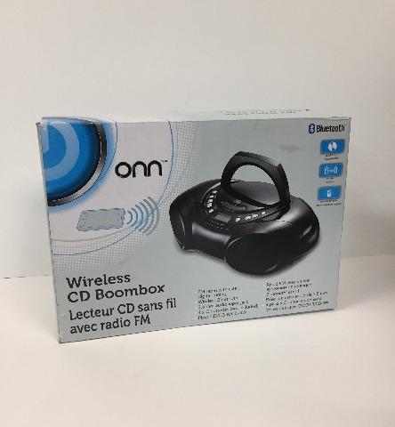 Onn Wireless CD Boombox