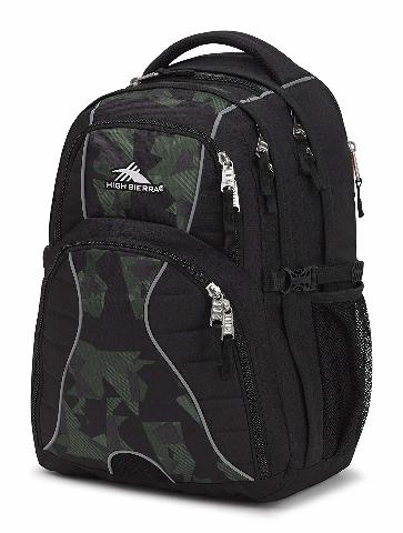 High Sierra Swerve Daypack BLACK/SHATTERED CAMO