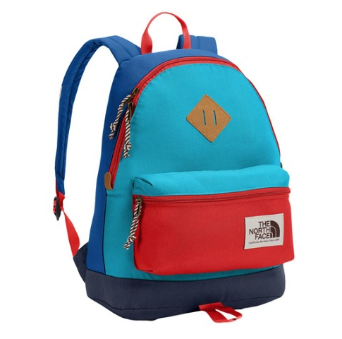 The North Face - Mini Berkeley Backpack - Turkish Sea/Fiery Red