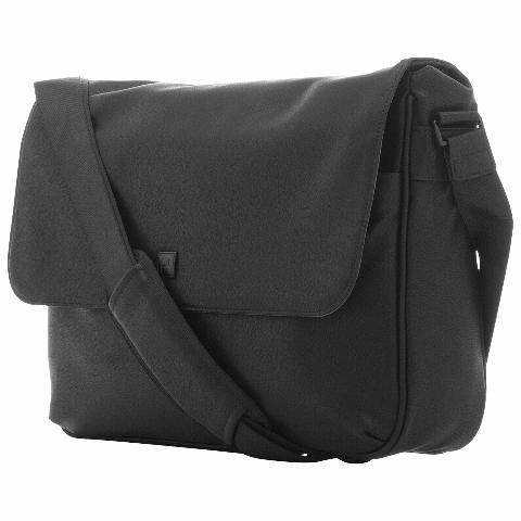 "Platinum 15"" Laptop Messenger Bag - Black PT-MMBB4-C"