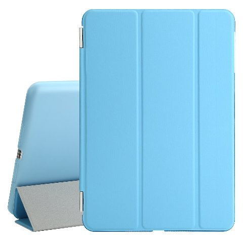 BESDATA Ultra Thin Magnetic Smart Cover ( iPad 2 / 3 /pro 9.7(light blue)