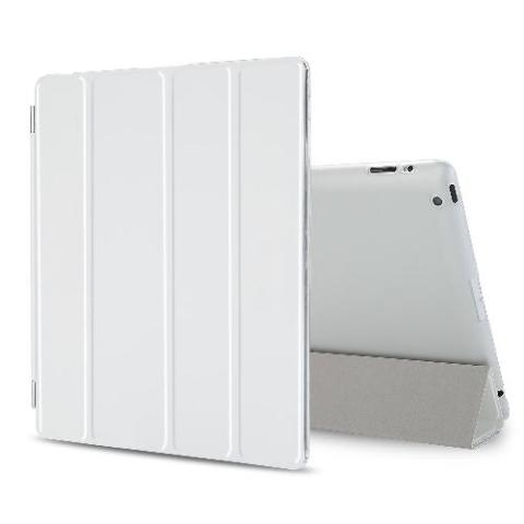 BESDATA Ultra Thin Magnetic Smart Cover for iPad 2 / iPad 3 / iPad 4 , white