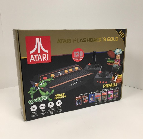 Atari Flashback 9 Gold HD Classic Game Console