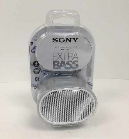 Sony XB01 Bluetooth Compact Portable Speaker Grey SRSXB01/W