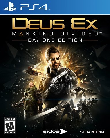 Square Enix Deus Ex: Mankind Divided - Day One Edition (Playstation 4)