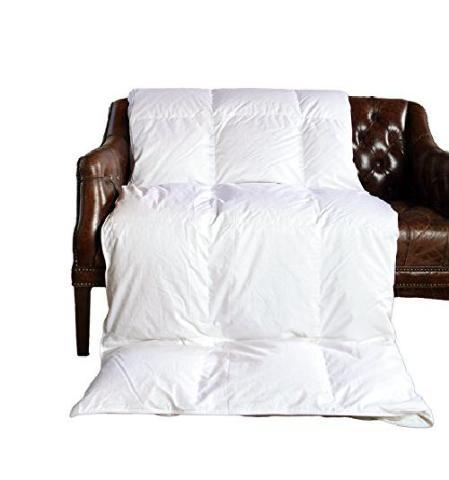 Cloud Nine Comforts Contessa Comforter, King, Hungarian White