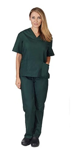 Natural Uniforms Scrub SetHunter Green SIZE Small