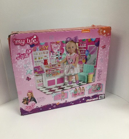 Mylife Brand Products My Life As Jojo Siwa Doll Candy Shop Play Set