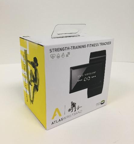 Atlas Wristband2 Digital Trainer   Heart Rate Band - Black/GREEN