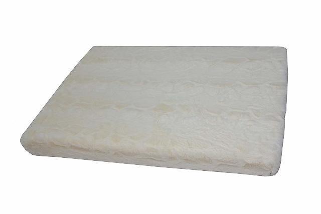 "Petspaces Brushed Plush Memory Foam Mat 29""X19""X2"""