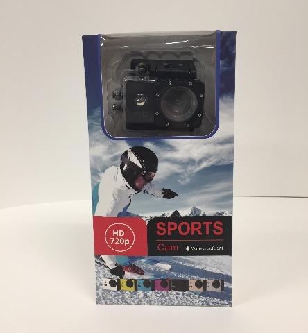 Sports Cam  - waterproof 720p HD