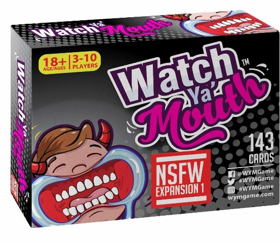 Watch Ya' Mouth NSFW (Adult) Expansion #1 Card Game Pack