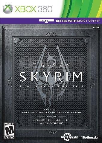 Elder Scrolls V: Skyrim - Xbox 360 - Legendary Edition (SEALED)