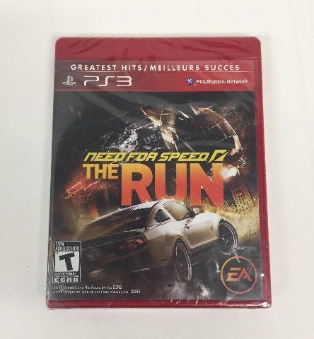 Need for Speed: The Run - Playstation 3 - North American Version (SEALED)