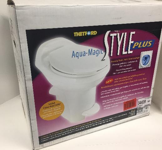 Thetford 34429 Aqua Magic Style Plus Toilet, High / White